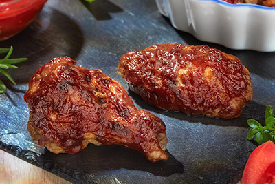 Alette di pollo gusto barbeque